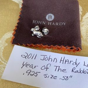 John Hardy Year of the Rabbit Lapel Pin 2011